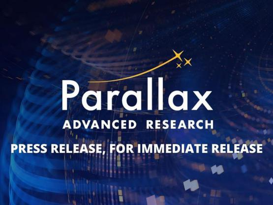Parallax Advanced Research press release
